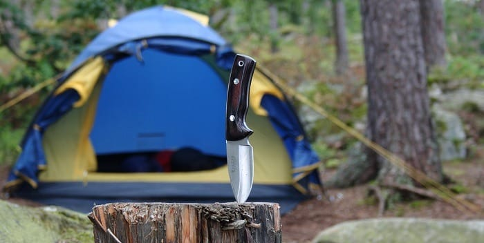 Should You Carry A Knife While Camping